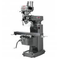 "JET 691208 JTM-1050VS2 10"" X 50"" VARIABLE SPEED VERTICAL MILLING MACHINE WITH NEWALL DP700 3-AXIS (QUILL) DRO AND X-AXIS POWER FEED"