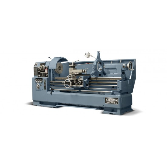 "KINGSTON HD-22160 22"" X 160"" HIGH SPEED PRECISION GAP BED ENGINE LATHE"