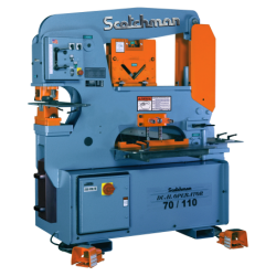 SCOTCHMAN 013908 DO70/110-24M 70 TON HYDRAULIC IRONWORKER