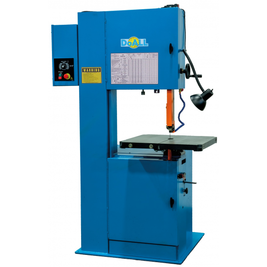 "DOALL 290207 2013-V5 20"" X 13"" VERTICAL CONTOUR BAND SAW WITH 13"" WORK HEIGHT"