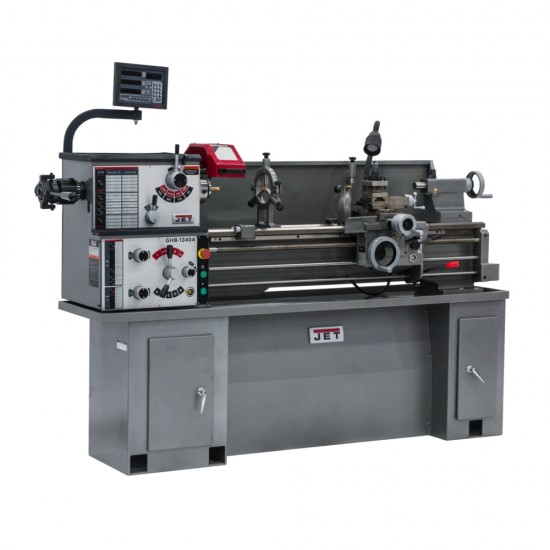 """JET 321124 GHB-1340A 13"""" x 40"""" GEARED HEAD BENCH LATHE WITH 5C LEVER TYPE COLLET CLOSER"""