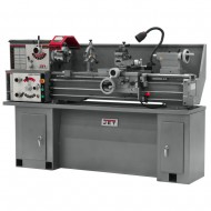 """JET 321101AK GHB-1340A 13"""" x 40"""" GEARED HEAD BENCH LATHE WITH CABINET STAND"""
