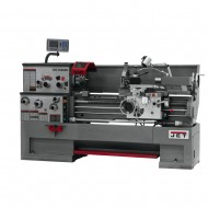 "JET 321445 GH-1640ZX 16"" X 40"" LARGE SPINDLE BORE ENGINE LATHE WITH ACU-RITE 203 2-AXIS DRO AND TAPER ATTACHMENT & 5C LEVER TYPE COLLET CLOSER"