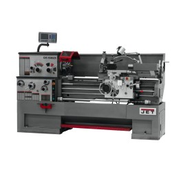 "JET 321148 GH-1640ZX 16"" X 40"" LARGE SPINDLE BORE ENGINE LATHE WITH NEWALL DP700 2-AXIS DRO AND TAPER ATTACHMENT"