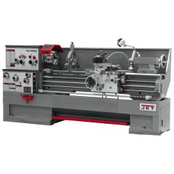 "JET 321463 GH-1860ZX 18"" X 60"" LARGE SPINDLE BORE ENGINE LATHE WITH TAPER ATTACHMENT"