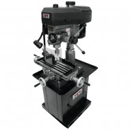 """JET 350133 JMD-18 9-1/2"""" x 32-1/4"""" STEP PULLEY MILLING/DRILLING MACHINE WITH NEWALL NMS300 2-AXIS DRO"""