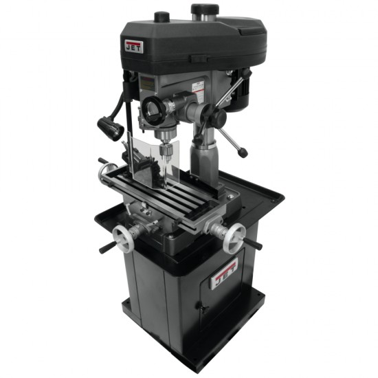"""JET 350119 JMD-18 9-1/2"""" x 32-1/4"""" STEP PULLEY MILLING/DRILLING MACHINE WITH X-AXIS POWER FEED"""