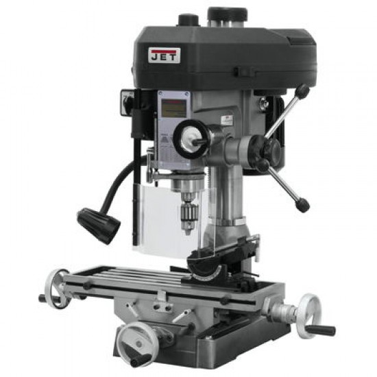 "JET 350018 JMD-18 9-1/2"" x 32-1/4"" STEP PULLEY MILLING/DRILLING MACHINE"