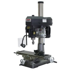 "JET 350020 JMD-18PFN 9-1/2"" x 31-3/4"" STEP PULLEY MILLING/DRILLING MACHINE WITH POWER DOWNFEED"