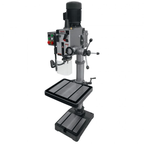 """JET 354022 GHD-20T 20"""" GEARED HEAD DRILL PRESS WITH TAPPING"""
