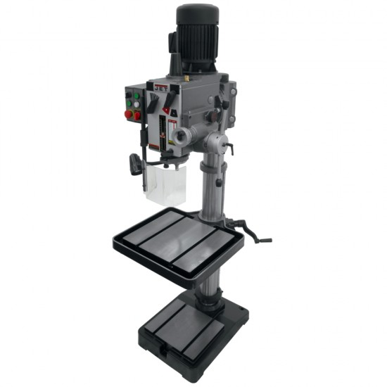 """JET 354026 GHD-20PFT 20"""" GEARED HEAD DRILL PRESS WITH POWER DOWN FEED & TAPPING"""