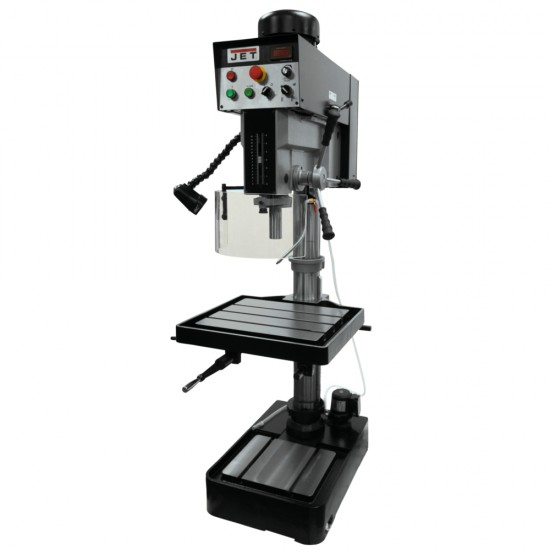 """JET 354225 JDP-20EVST-230 20"""" ELECTRONIC VARIABLE SPEED DRILL PRESS WITH TAPPING"""