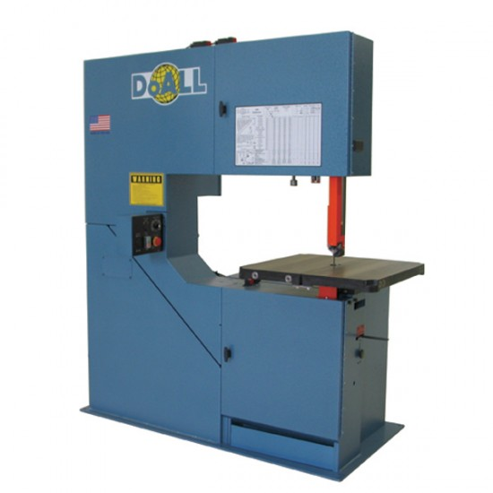 """DOALL 290216 3613-V5 36"""" X 13"""" VERTICAL CONTOUR BAND SAW WITH 13"""" WORK HEIGHT"""
