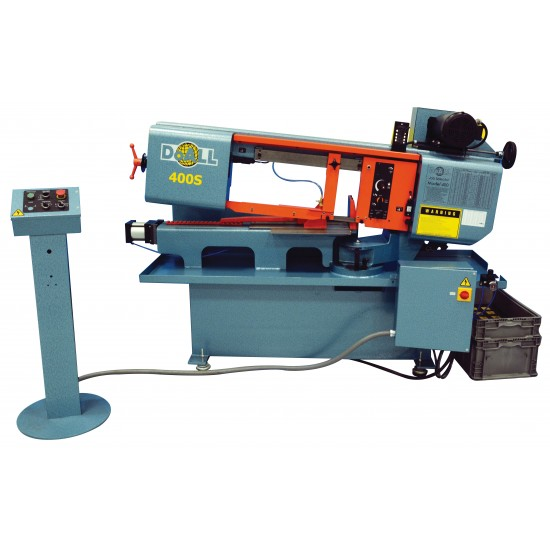 "DOALL 1008780 400-S 10"" X 16"" STRUCTURALL SERIES HORIZONTAL MITER CUTTING BAND SAW"