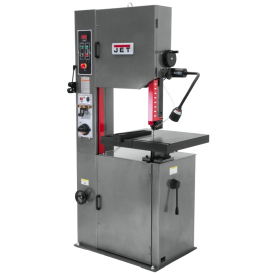 "JET 414485 VBS-1610 16"" METAL CUTTING VERTICAL BANDSAW WITH 10"" WORK HEIGHT"
