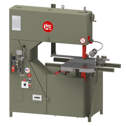 "GROB 4V-36 36"" METAL CUTTING VERTICAL BANDSAW WITH 12"" WORK HEIGHT"