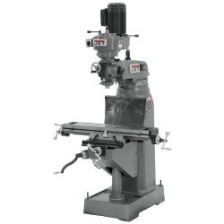 "JET 690036 JVM-836-1 7-7/8"" x 35-3/4"" STEP PULLEY VERTICAL MILLING MACHINE"