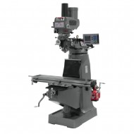 """JET 690400 JTM-4VS 9"""" X 49"""" VARIABLE SPEED VERTICAL MILLING MACHINE WITH ACU-RITE 203 3-AXIS (KNEE) DRO AND POWER DRAW BAR"""