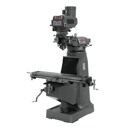 "JET 690180 JTM-4VS-1 9"" X 49"" VARIABLE SPEED VERTICAL MILLING MACHINE"
