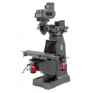 "JET 690197 JTM-4VS-1 9"" X 49"" VARIABLE SPEED VERTICAL MILLING MACHINE WITH X AND Y-AXIS POWER FEEDS"