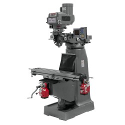 """JET 690197 JTM-4VS-1 9"""" X 49"""" VARIABLE SPEED VERTICAL MILLING MACHINE WITH X AND Y-AXIS POWER FEEDS"""