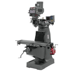 """JET 690178 JTM-4VS-1 9"""" X 49"""" VARIABLE SPEED VERTICAL MILLING MACHINE WITH X-AXIS POWER FEED"""