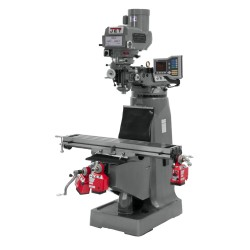 """JET 690013 JTM-4VS 9"""" X 49"""" VARIABLE SPEED VERTICAL MILLING MACHINE WITH X, Y AND Z-AXIS POWER FEEDS"""