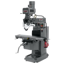 "JET 691600 JTM-1050EVS2/230 10"" X 50"" ELECTRONIC VARIABLE SPEED VERTICAL MILLING MACHINE"