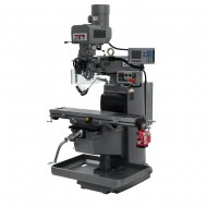 """JET 690619 JTM-1050EVS2/230 10"""" X 50"""" ELECTRONIC VARIABLE SPEED VERTICAL MILLING MACHINE WITH ACU-RITE 203 2-AXIS DRO AND X-AXIS POWER FEED"""