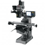 """JET 690938 JTM-4VS 9"""" X 49"""" VARIABLE SPEED VERTICAL MILLING MACHINE WITH ACU-RITE MILLPWR G2 2-AXIS CNC CONTROL"""