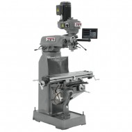 "JET 691173 JVM-836-1 7-7/8"" x 35-3/4"" STEP PULLEY VERTICAL MILLING MACHINE WITH NEWALL DP700 2-AXIS DRO"