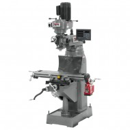 "JET 691177 JVM-836-1 7-7/8"" x 35-3/4"" STEP PULLEY VERTICAL MILLING MACHINE WITH NEWALL DP700 3-AXIS (QUILL) DRO AND X-AXIS POWER FEED"