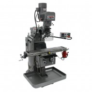 "JET 690501 JTM-949EVS 9"" X 49"" ELECTRONIC VARIABLE SPEED VERTICAL MILLING MACHINE WITH X-AXIS POWER FEED"