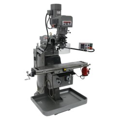 """JET 690501 JTM-949EVS 9"""" X 49"""" ELECTRONIC VARIABLE SPEED VERTICAL MILLING MACHINE WITH X-AXIS POWER FEED"""