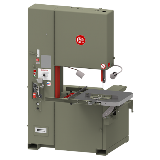 "GROB 6V-36 36"" FRICTION METAL CUTTING VERTICAL BANDSAW WITH 20"" WORK HEIGHT"