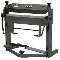 "JET 752125 BPF-1240 40"" X 12 GAUGE BOX AND PAN BRAKE WITH FOOT CLAMP"