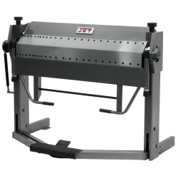 """JET 752130 PBF-1650D 50"""" X 16 GAUGE DUAL SIDED BOX AND PAN BRAKE WITH FOOT CLAMP"""