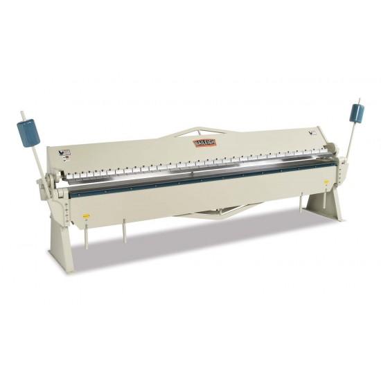"""BAILEIGH 1000381 BB-14418 144"""" X 18 GAUGE MANUAL SHEET METAL BOX AND PAN BRAKE"""