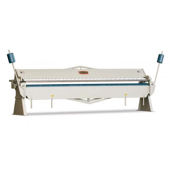 """BAILEIGH 1000382 BB-15722 157"""" X 22 GAUGE MANUAL SHEET METAL BOX AND PAN BRAKE"""