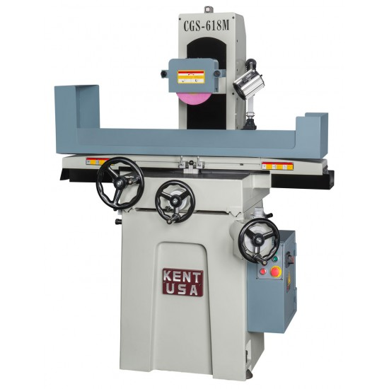 "KENT USA CGS-618M 6"" X 18"" MANUAL HANDFEED SURFACE GRINDER"