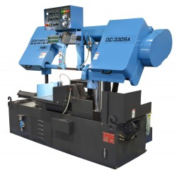 "DOALL DC-330SA 13"" X 15-3/4"" CONTINENTAL SERIES SEMI-AUTOMATIC HORIZONTAL PRODUCTION COLUMN BAND SAW"