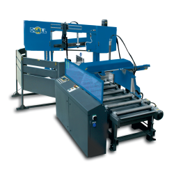 """DOALL DCDS-750NC 19"""" X 30"""" STRUCTURALL SERIES AUTOMATIC HORIZONTAL DUAL COLUMN DUAL SWIVEL MITER METAL CUTTING BAND SAW"""