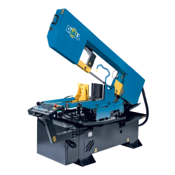 """DOALL DS-500SA 14"""" X 20"""" STRUCTURALL SERIES SEMI-AUTOMATIC HORIZONTAL DUAL MITER METAL CUTTING BAND SAW"""