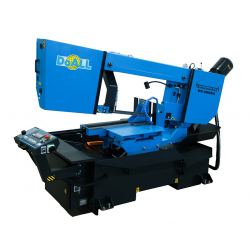 """DOALL DS-600SA 18"""" X 23-1/2"""" STRUCTURALL SERIES SEMI-AUTOMATIC HORIZONTAL DUAL MITER METAL CUTTING BAND SAW"""