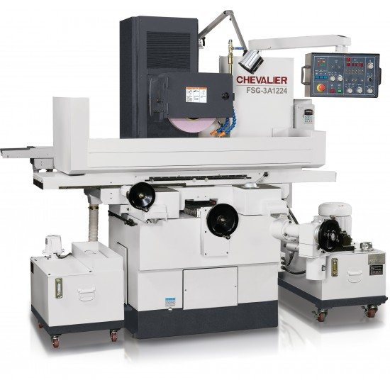 """CHEVALIER FSG-3A1224 12"""" X 24"""" 3-AXIS AUTOMATIC PRECISION HYDRAULIC SURFACE GRINDER"""