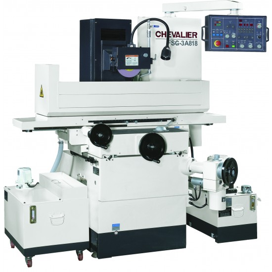 """CHEVALIER FSG-3A818 8"""" X 18"""" 3-AXIS AUTOMATIC PRECISION HYDRAULIC SURFACE GRINDER"""