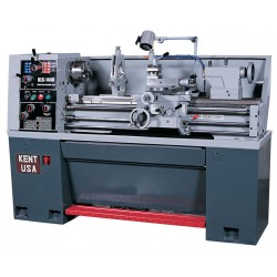 "KENT USA KLS-1440 14"" X 40"" MANUAL GAP BED ENGINE LATHE"