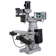 """KENT USA KTM-3VSF-MILLPWRG2-3 9"""" X 49"""" ELECTRONIC VARIABLE SPEED VERTICAL MILLING MACHINE WITH ACU-RITE MILLPWR G2 3-AXIS CNC CONTROL"""