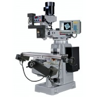 """KENT USA KTM-4VKF-E-MILLPWRG2-3 12"""" X 50"""" ELECTRONIC VARIABLE SPEED VERTICAL MILLING MACHINE WITH ACU-RITE MILLPWR G2 3-AXIS CNC CONTROL"""