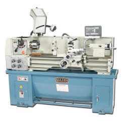 "BAILEIGH 1006057 PL-1340 13"" X 40"" GEARED HEAD GAP BED ENGINE LATHE WITH MITUTOYO 2-AXIS DRO"